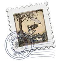 lydia mail stamp by screaM4Dolls