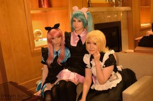 Vocaloid - group shot by DISC-Photography