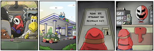 Shy Guy Adventures: Carpool by QuadForceFive