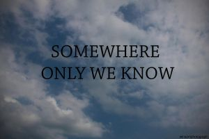 Somewhere Only We Know by winsons