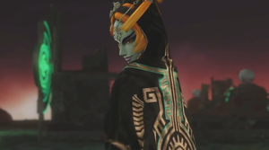 Twili Midna battle pose by isaac77598