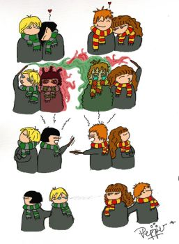 Dramione comic by Pepper-H