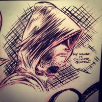 Arrow- Oliver Queen by JeffMyles