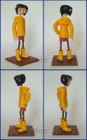 Coraline Jones Figure Angles by Alistu