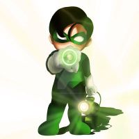 Green Lantern Chibi by ExoroDesigns