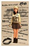 International Happy New Year card by monstre210