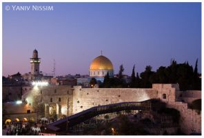 Jerusalem Night by ynissim