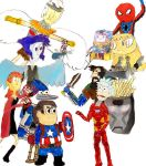Cartoon Network Captain America Civil War by thearist2013