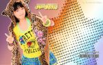 Wallpaper Momusu Winter 2012 Haruka ver by RainboWxMikA