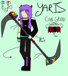Yaris From Time shenanigans by mariahjc