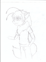 WIP- Laris Goes Anthro by flamefox324