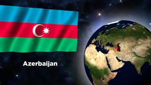 Flag Wallpaper - Azerbaijan by darellnonis