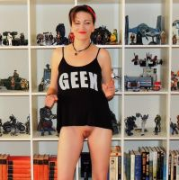 Geek Girl 21 by AFKPhoto