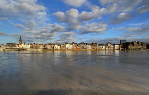 Wyck High Water - Maastricht by ThomasHabets