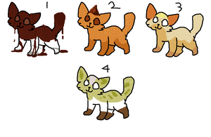 Dessert Kitty Adoptables *OPEN* by Meepalso