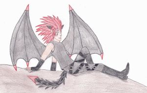 Axel - Demon by shadow-bahar