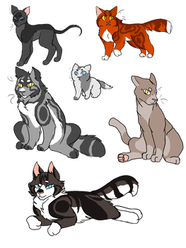 cat designs are fun by Harryfly