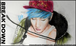 Eunhyuk portrait (Break Down) Super Junior-M by Lucia-95RduS
