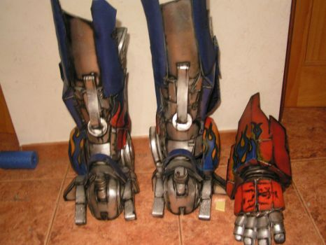 optimums prime  lower legs and one forarm by faustus70