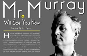 Bill Murray Magazine Article by OpenMind989