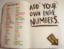 Add your own page numbers by RlySrh