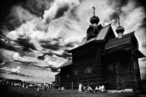 The Wooden Church by Sulde