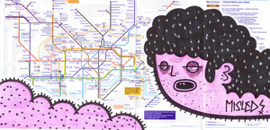 tube map by bountyhunter113