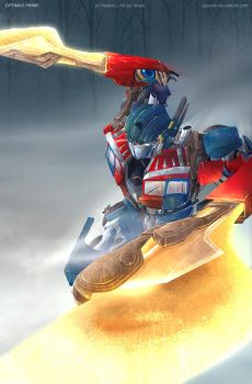 Optimus Prime by suzuran