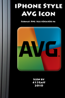 iPhone Style AVG Icon by 413East