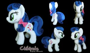 Moonlit Charm Custom Plush by Chibi-pets