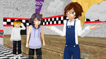 [MMD PMFM] - That one dumb person by SonicandShadowfan15
