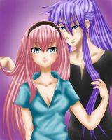 Luka and Gakupo by LadyGalatee