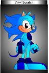 Vinyl Scratch(Sonic Character) by Coolkid345