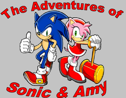 The Adventures of Sonic and Amy (New pic) by D-Man611