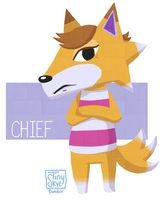 ACNL Chief by TinySkye