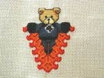 Cross Stitch Human Torch by LeeAlexis