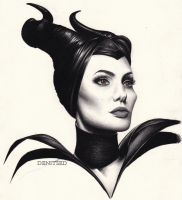 Maleficent by DENITSED