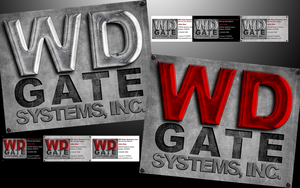 WD LOGO Design Close up by fireproofgfx