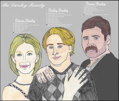 DURSLEY FAMILY by avtrspnsmvlvr