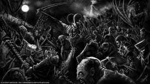 March of the Dead by LordNetsua