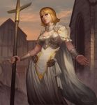 Northern Cross Priestess by LASAHIDO
