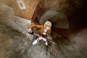 shingeki no kyojin: armin arlert 001 by mokrushina