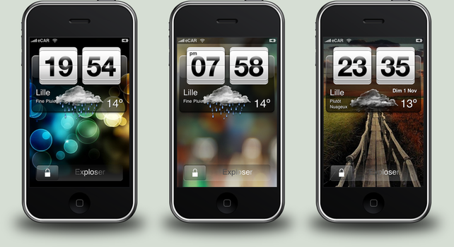 Android Widget for iPhone-iPod by eCAR