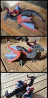 Needle Felted Dragon by Halwen