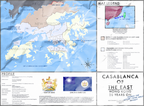 Casablanca of the East: Free City of Hong Kong by mdc01957
