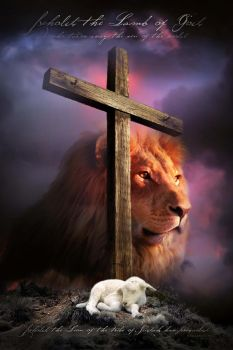 LAMB OF GOD - Christian religious posters by davidsorensen