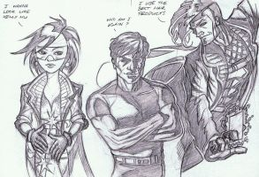 Where's the rest of the X-Men by Dreee