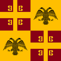 Flag of the Republic of Rhomaion by EmperorAlexander