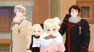[MMD] The Russians by Riku-Love