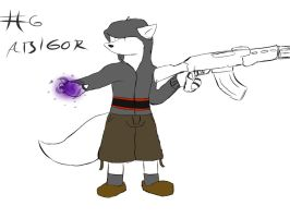 My character list 06: Abigor by 2-D-likespizza